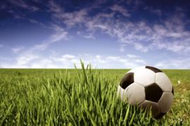 Fotobehang Voetbal