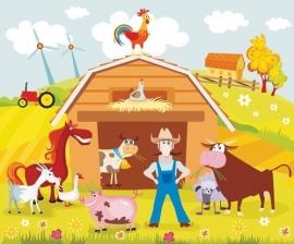 Dutch Digiwalls Fotobehang - Olly art. 13073 Farmville