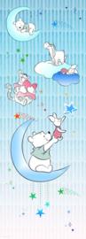 Komar fotobehang DX2-082 Winnie Pooh Piglet And Stars