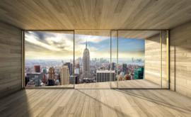 Fotobehang Uitzicht op Empire State Building New York City
