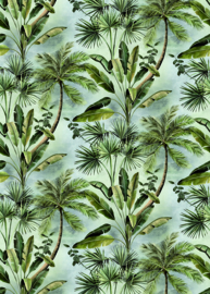 Hookedonwalls Blooming Mural BLD22782