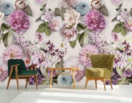 Floral Utopia INK7564 fotobehang afm. 200cm breed x 280cm hoog