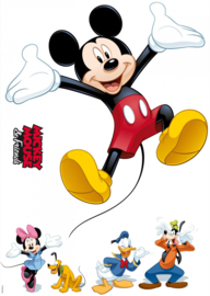 Wandsticker Mickey And Friends 14017