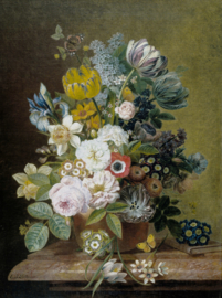 Dutch Painted Memories 8045 Still life with flowers IV