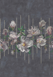 Osborn & Little Folium W7338-01 Magnolia Frieze
