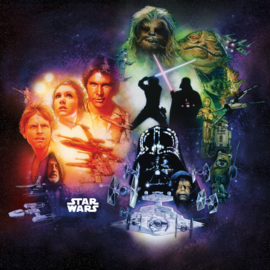 Komar fotobehang DX5-044 Star Wars Classic Poster Collage
