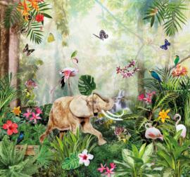 Sofie & Junar INGK7665 Jungle Dance afmeting 300cm x 280cm hoog