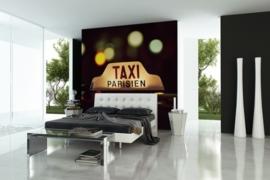Fotobehang City Love CL23A Taxi Parisien