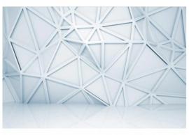 Fotobehang Abstract met diepte patroon