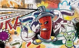 Fotobehang kinderen Graffiti 160