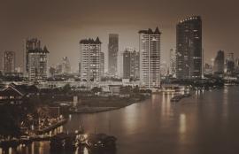 Fotobehang City Love CL87C Bangkok