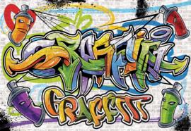 Fotobehang Street Art