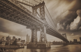 Fotobehang City Love CL04C New York Brooklyn Bridge