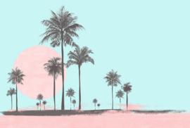Fotowand Miami beach sunrise 1 by Andrea Haase afm. 400cm x 270cm hoog