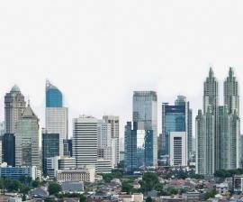 Fotobehang City Love CL67A Jakarta