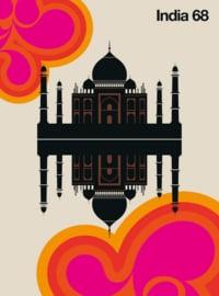 Fotowand India 68 by Bo Lundberg afm. 200cm x 270cm hoog