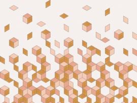 BN Cubiq 200450 Falling Cube Mural