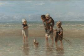 Fotobehang Kinderen der zee - Jozef Israëls