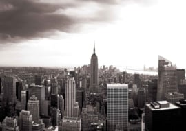 Fotobehang New York Skyline en Empire State Building