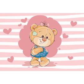 Fotobehang The Big Heart Bears: Claudia
