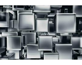 Fotobehang Metalen kubussen