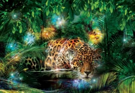 Fotobehang Jungle Jaguar