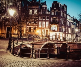 Fotobehang City Love CL39A Amsterdam