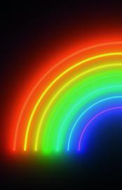 Noordwand Good Vibes GVD24302 Mural Rainbow 180cm x 280cm hoog
