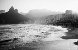 Fotobehang City Love CL52B Rio de Janeiro Beach