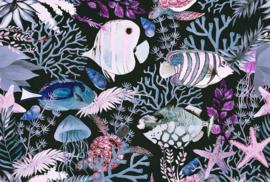 Fotowand Underwater 1 by Andrea Haase afm. 400cm x 270cm hoog