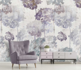 Floral Utopia INK7580 fotobehang afm. 200cm breed x 280cm hoog