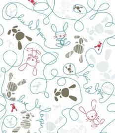 Little Ones fotobehang 415083 Doodle Scribble