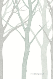 Eijffinger Wallpower Junior 364131 Grey Tree