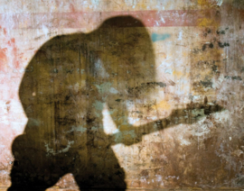 Galerie Wallcoverings Grunge G45280 Silhouette