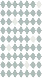 Bibelotte behang Wieber blauw 28092