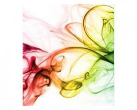 Fotobehang Warm gekleurde rook
