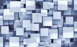 Fotobehang Abstract Rechthoekig Blauw