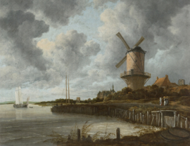 Dutch Painted Memories 8023 The windmill Jacob van Ruisdael
