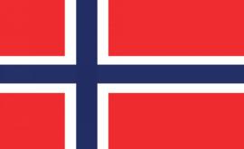 Fotobehang vlag Noorwegen