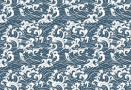 Fotobehang Zee patroon