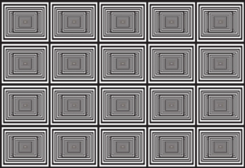 Fotobehang Zwart-wit geometrisch ontwerp