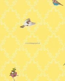 Kinderbehang Glööckler Children`s Paradise 54110 vogeltjes