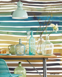 Eijffinger Stripes+ 377215 Wallpower Aquastripe Ochre
