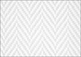Glasweefselbehang geimpregneerd 25.0mtr motief visgraat 81713-L
