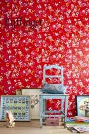 Eijffinger Pip Studio behang  386035 Chinese Rose Rood