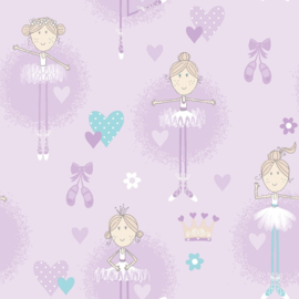 Galerie Wallcovering Just 4 kids 2 - G56507 balletdansers