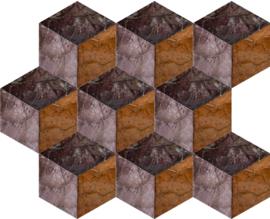 Arte Samal 33702 Cubic Burnt Sienna