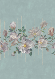 Osborn & Little Folium W7338-02 Magnolia Frieze