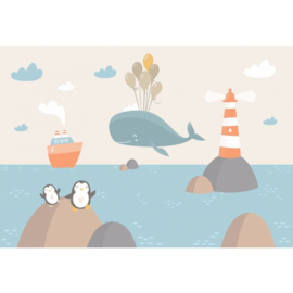 Fotobehang Whale Ahoy!