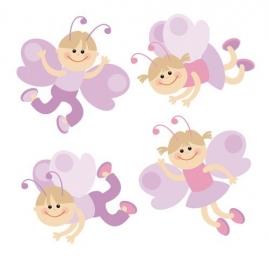 Dutch Digiwalls Fotobehang - Olly art. 13011 Flutter Kids